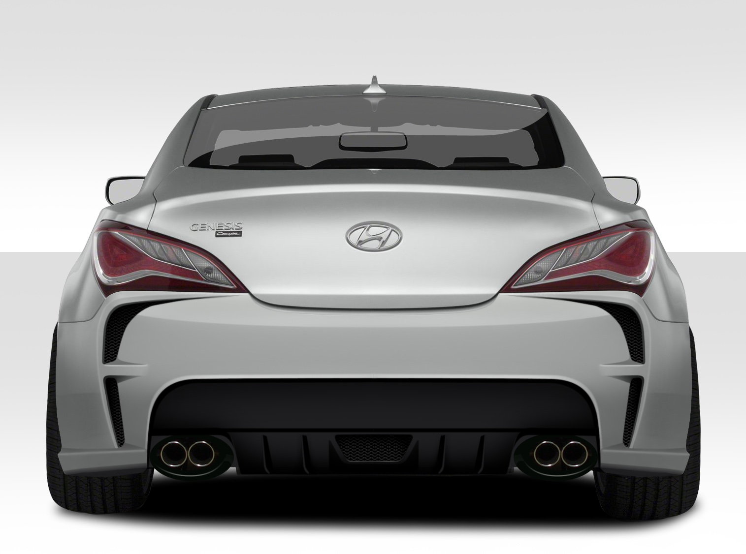 Extreme Dimensions Vg R Rear Bumper Genesis Coupe 2010 2014