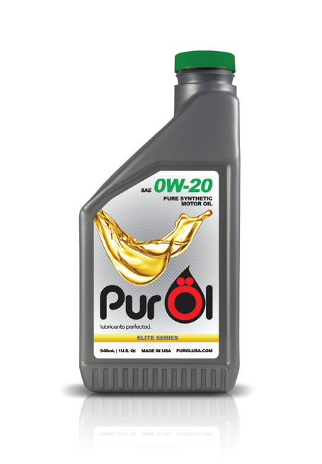 Purol elite sae 0w 20 synthetic motor oil 1 quart for Sae 0w 20 synthetic motor oil