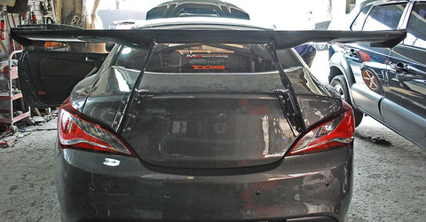 Big Brother Carbon Fiber Gt Wing Genesis Coupe 2010 2016
