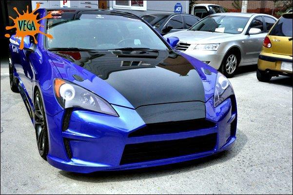 Genesis Coupe Vega Front Bumper 2010 2012