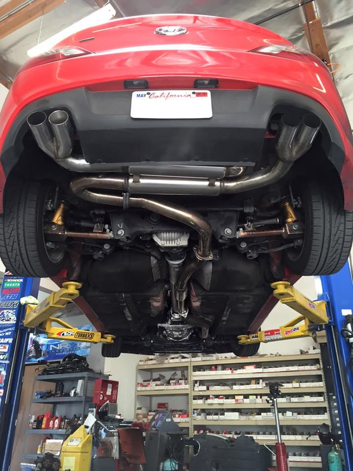 J2 Engineering 3 Quot Catback Exhaust Genesis Coupe 2 0t