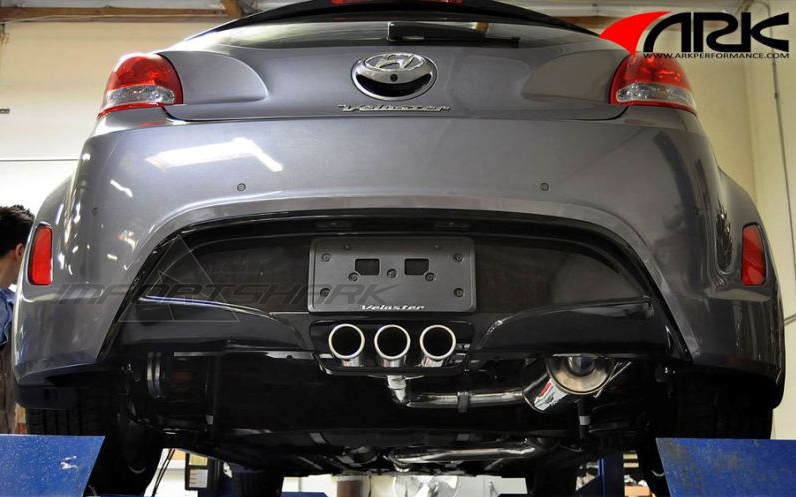 Hyundai Veloster 2012 Ark Dt S Exhaust System Non Turbo